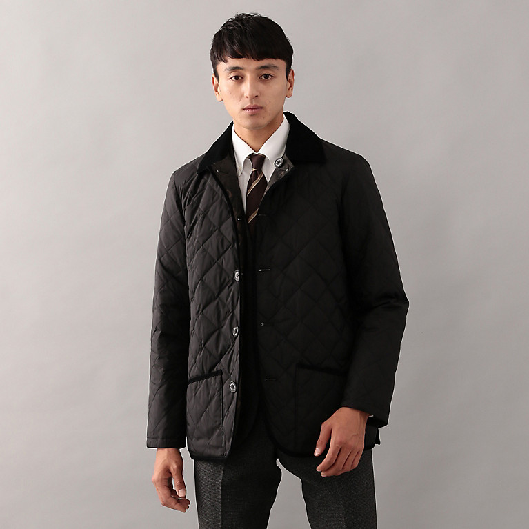 「【WARENFORD】 高密度ポリエステルタフタ キルティングジャケット」の画像検索結果