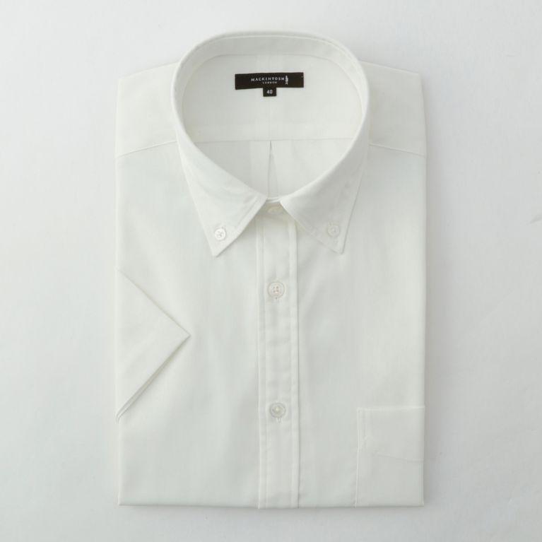 SALE【MACKINTOSH LONDON MENS マッキントッシュロンドン メンズ】 スノーコットンオックスフォードシャツ ホワイト
