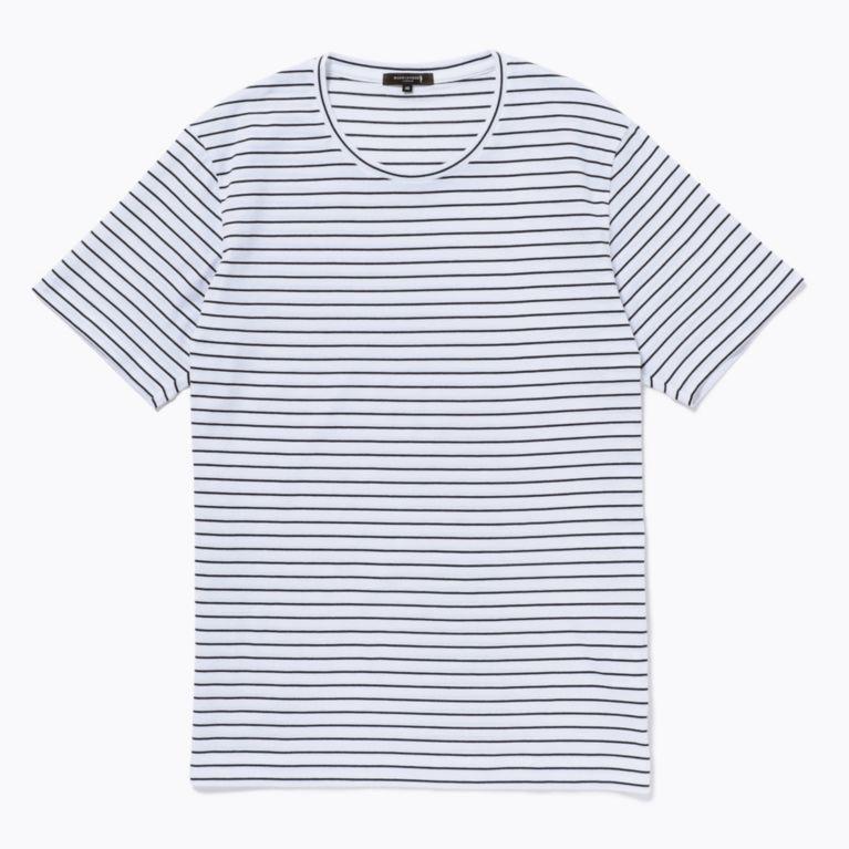 SALE【MACKINTOSH LONDON MENS マッキントッシュロンドン メンズ】 ボーダー天竺Tシャツ ホワイト