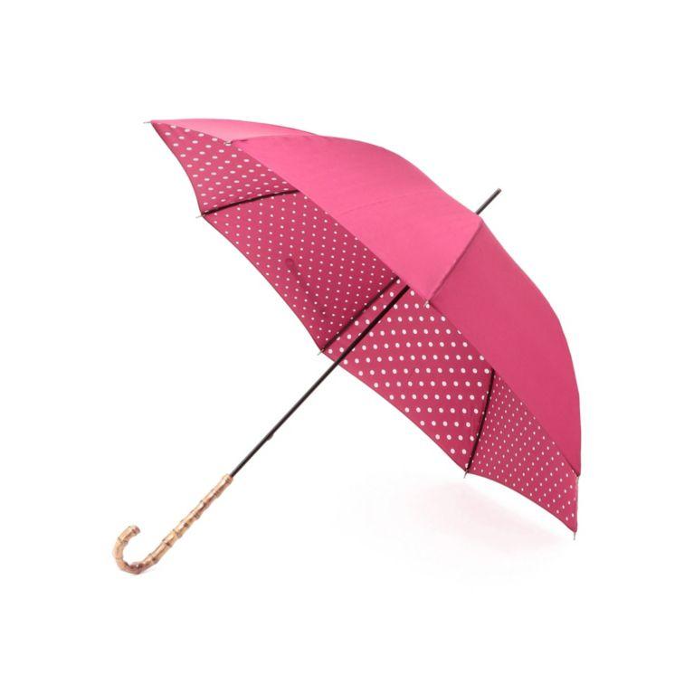<三陽商会>【マッキントッシュ フィロソフィー ウィメン(MACKINTOSH PHILOSOPHY WOMEN)】【晴雨兼用】裏ドット長傘 ピンク 送料無料!画像