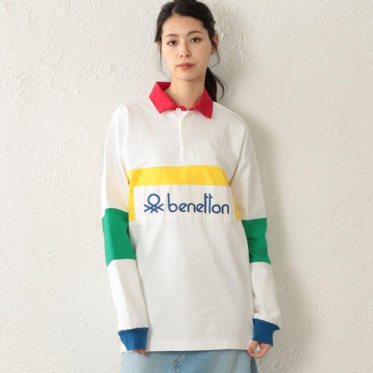 【CAST:】 【店舗限定】【BENETTON】アーカイブラガーシャツ ホワイト