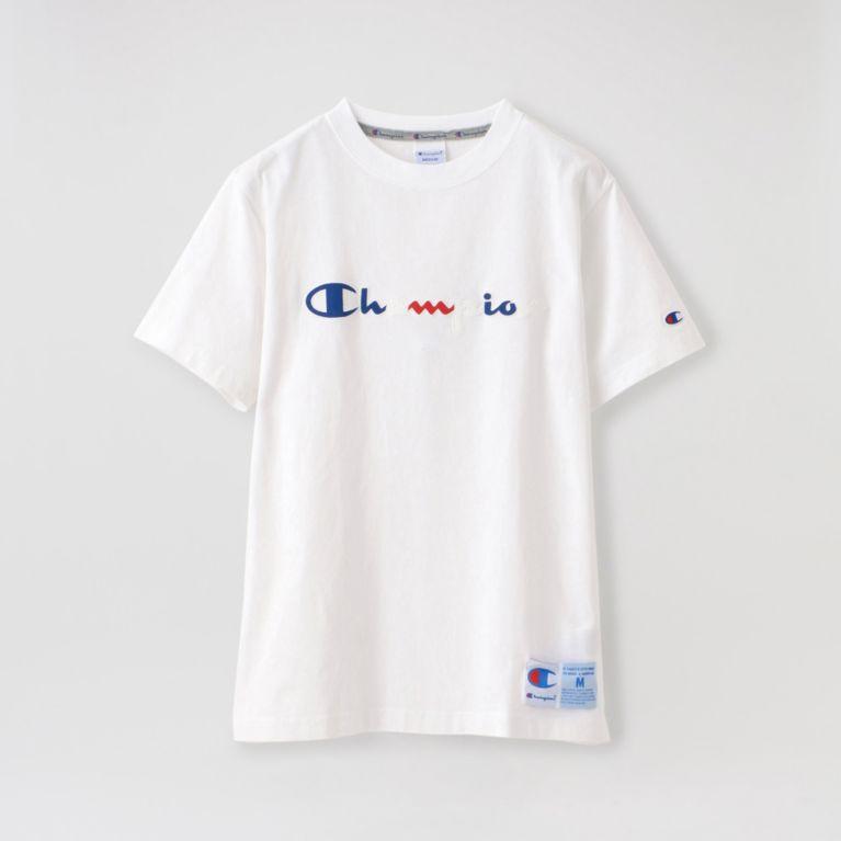 【LOVELESS】 【Champion】MEN T-SHIRT C3-R305 ホワイト