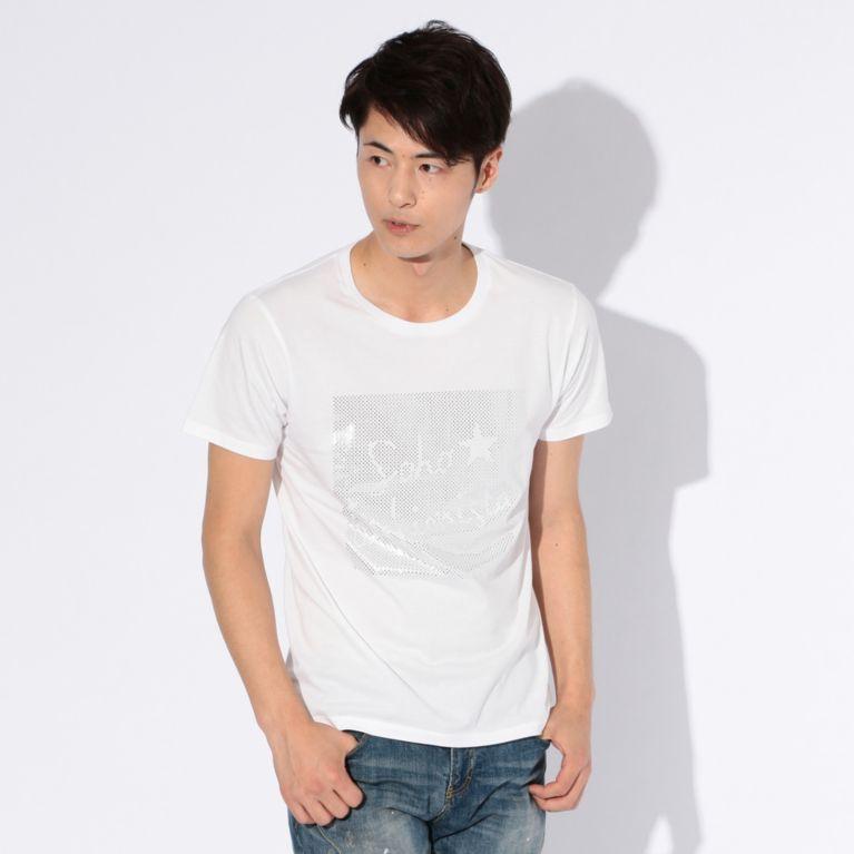 【GUILD PRIME ギルドプライム】 【WEB限定】【GUILD PRIME】MENS SOHO★FASHIONIST Tシャツ ホワイト