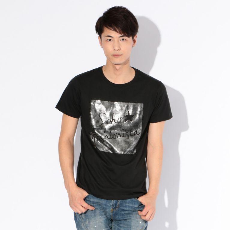 【GUILD PRIME ギルドプライム】 【WEB限定】【GUILD PRIME】MENS SOHO★FASHIONIST Tシャツ ブラック