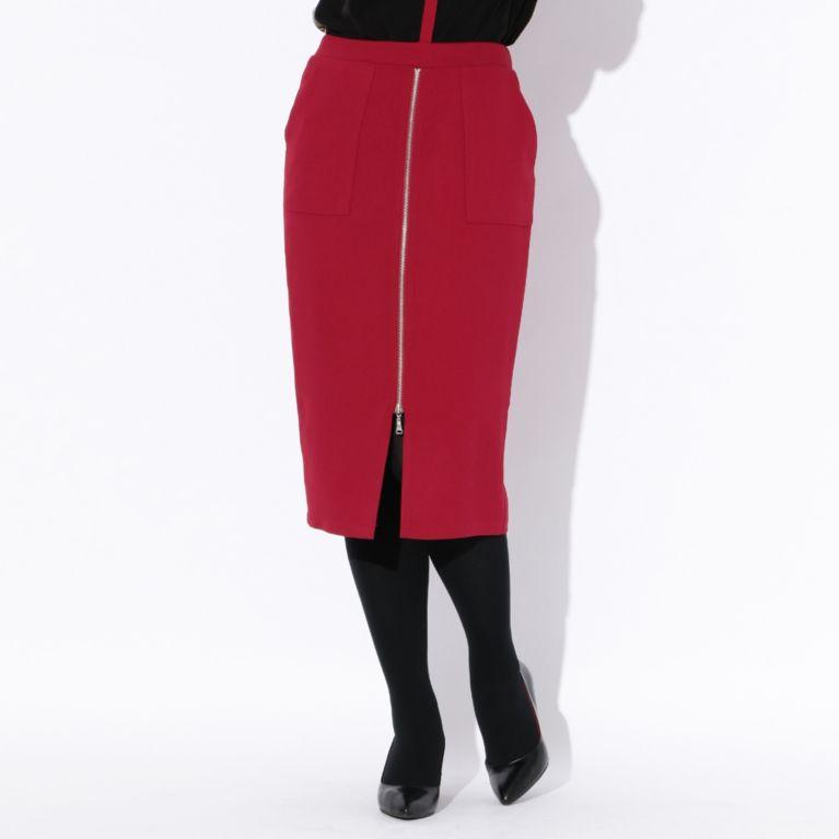 47%OFF!SALE<三陽商会>【ラブレス(LOVELESS)】【GUILD PRIME】WOMENS フロントジップスカート ピンク 定価 18360円から 8640円値引!画像