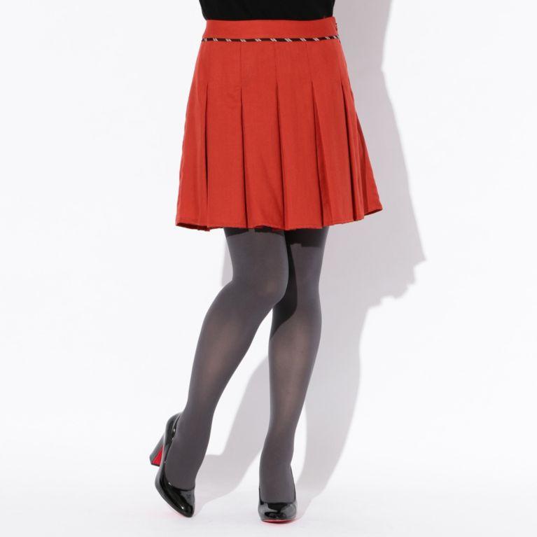 60%OFF!SALE<三陽商会>【ラブレス(LOVELESS)】【GUILD PRIME】WOMENS カラーショートスカート オレンジ 定価 16200円から 9720円値引!画像
