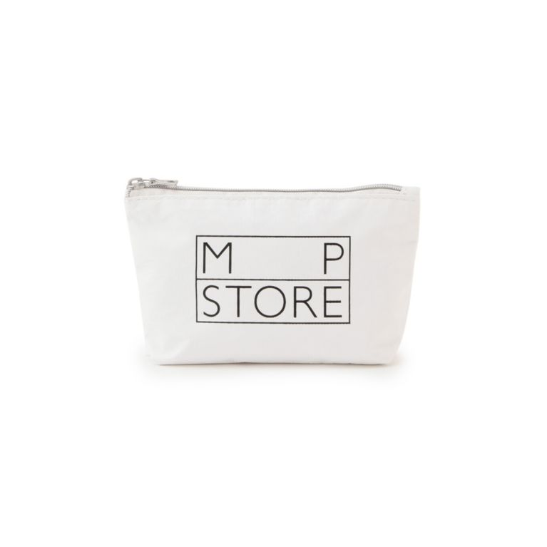 <三陽商会>【エムピー ストア(MP STORE)】MPSトラベルポーチS ホワイト画像
