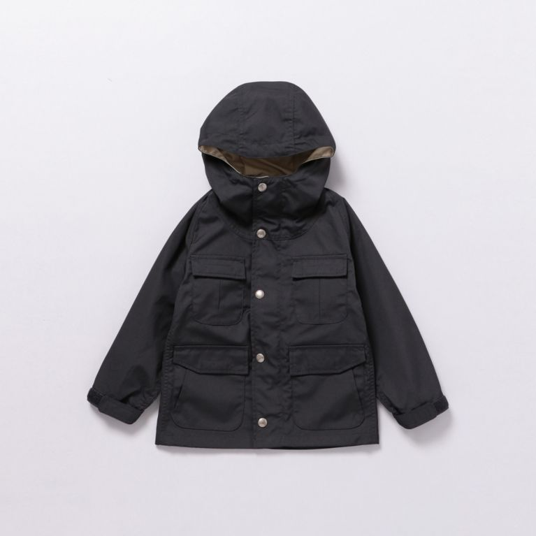 45%OFF!SALE<三陽商会>【バイヤーズコレクション(BUYER'S COLLECTION)】【SIERRA DESIGNS】【FOR KIDS】65/35 MOUNTAIN TRAIL PARKA ブラック 定価 17820円から 8100円値引!画像