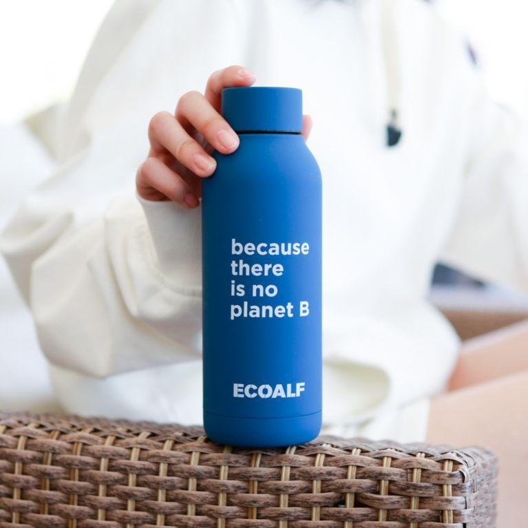 【ECOALF】 BECAUSE ボトル / BECAUSE STAINLESS STEEL BOTTLE ディープネイビー